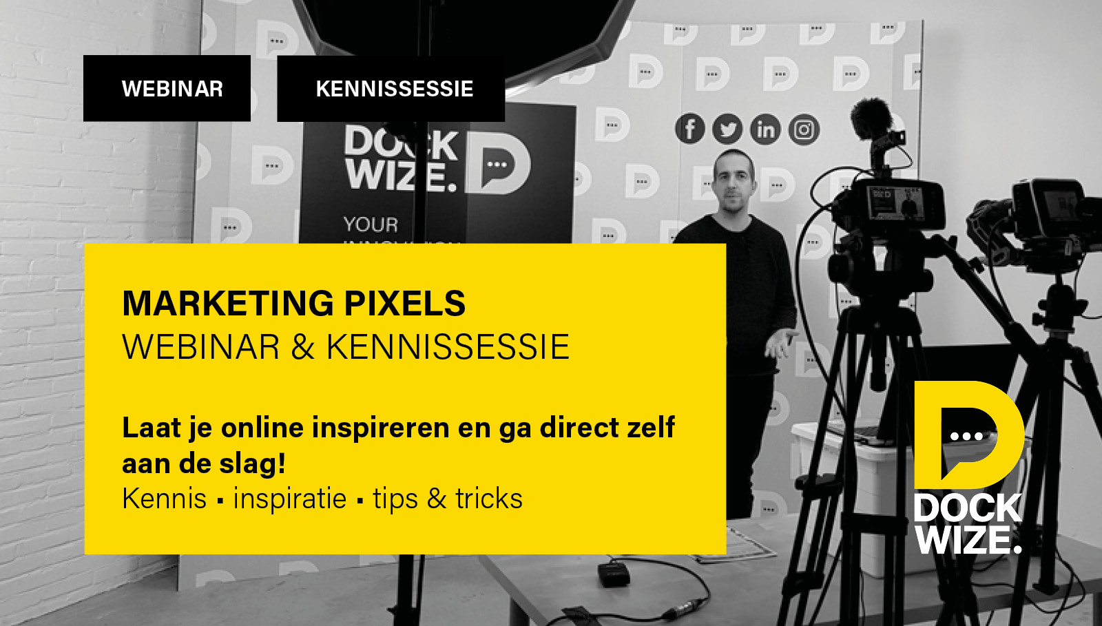 webinar marketing pixels perry van de vrede dockwize