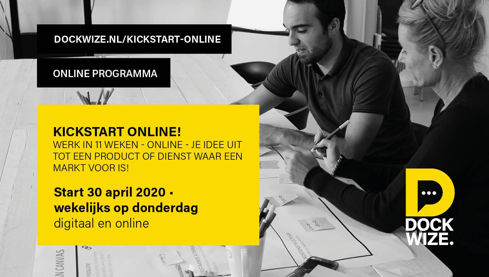 kickstartprogramma online 30 april 2020